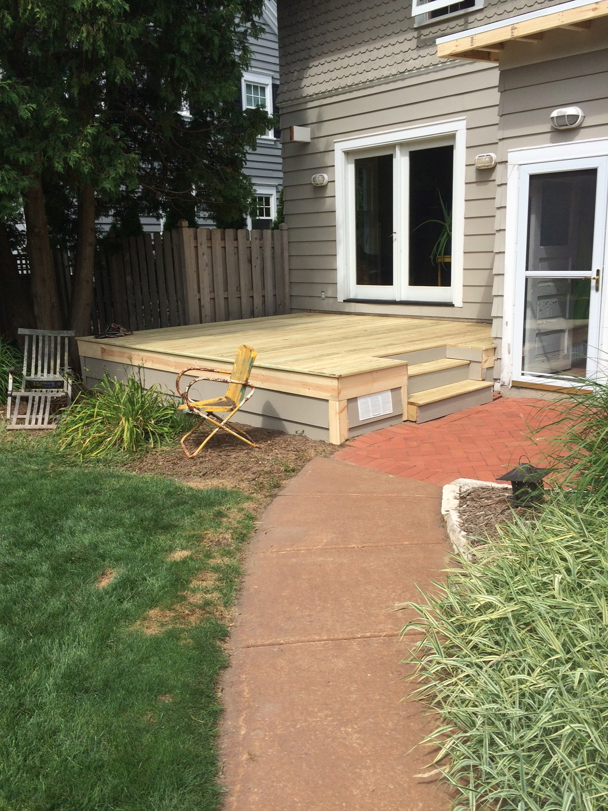 Deck Remodel After