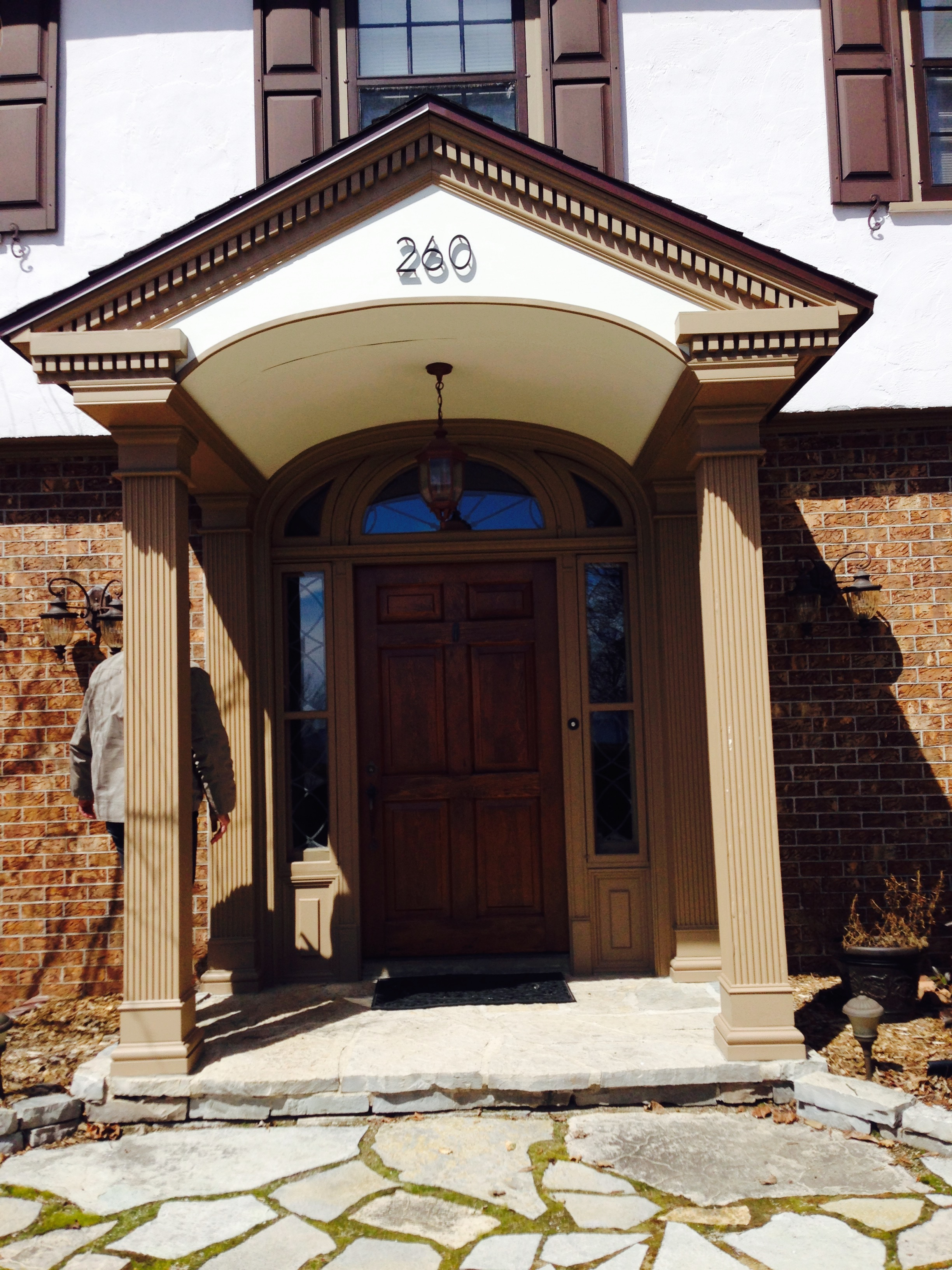 Front Entry Remodel After